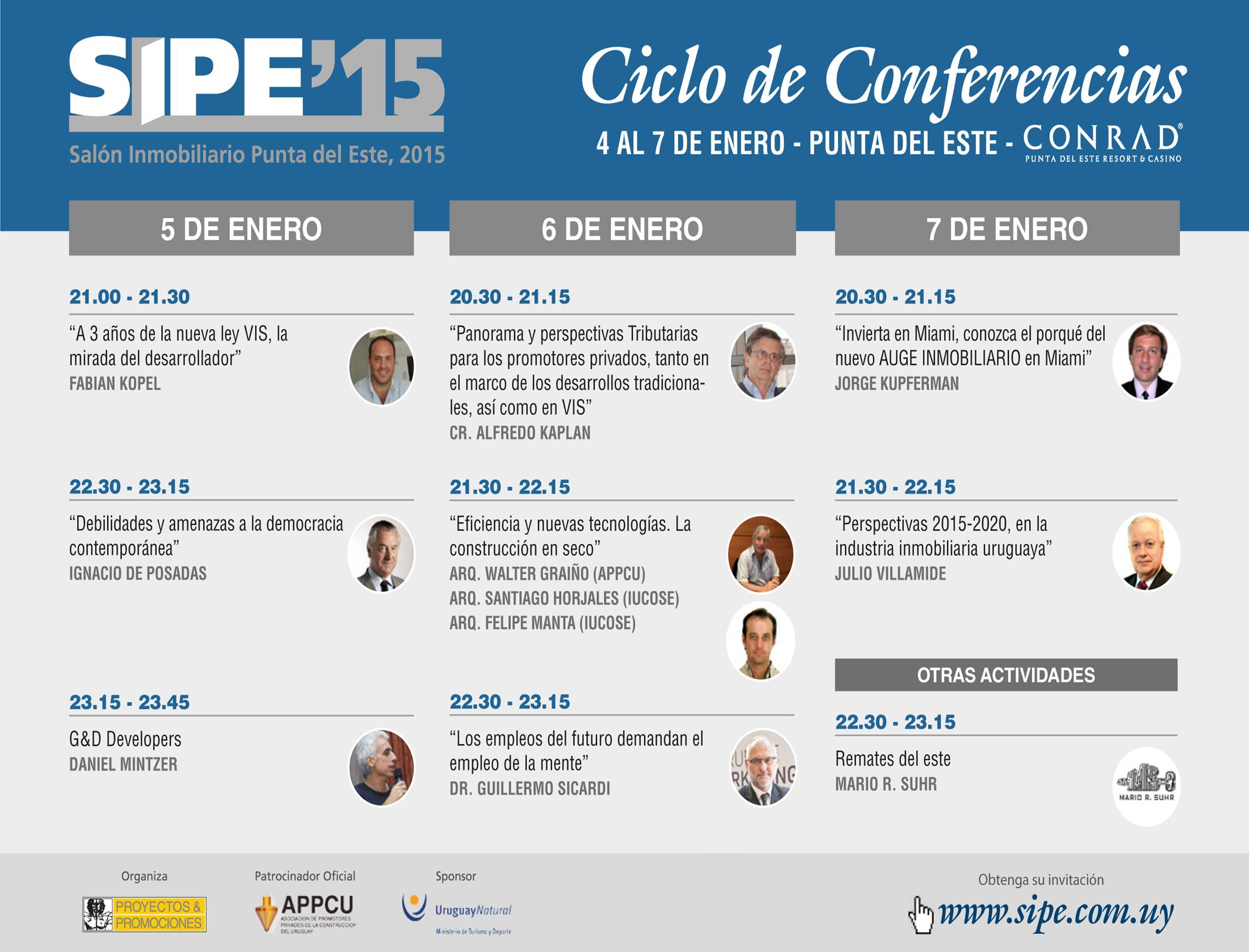 conferencias sipe
